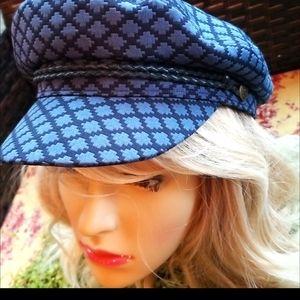 BRIXTON Baker Boys Fiddler Newsboy Cab Hat S NWT